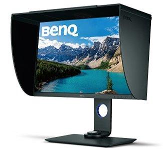 BenQ 27 inch 4K PhotoVue Photographer Monitor (SW271), IPS, 3840x2160 UHD, HDR, 99% Adobe RGB, 100% sRGB, Rec.709,DCI-P3, Hardware Calibration, 14-bit 3D LUT, GamutDuo, USB-C, DP, HDMI