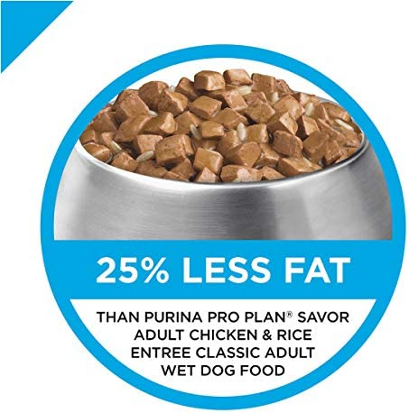 Purina Pro Plan Weight Management Adult Dry Dog Food & Wet Dog Food (Packaging May Vary) 3