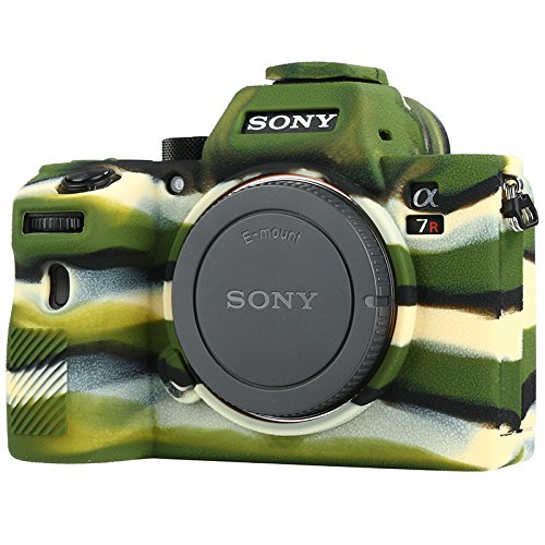 STSEETOP-Sony-A7III-Case-Professional-Silicone-Rubber-Camera-Case-Cover-Detachable-Protective-for-Sony-A7-III-A7-RIII-A7-SIII-Sony-ILCE-7RIII-A73-A7R3-A7S3-Army-Green