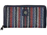 Tommy Hilfiger Women's Julia Fashion Zip Wallet Navy/Multi One Size