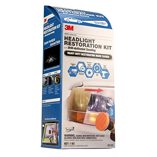 3M 39165 Headlight Restoration Kit