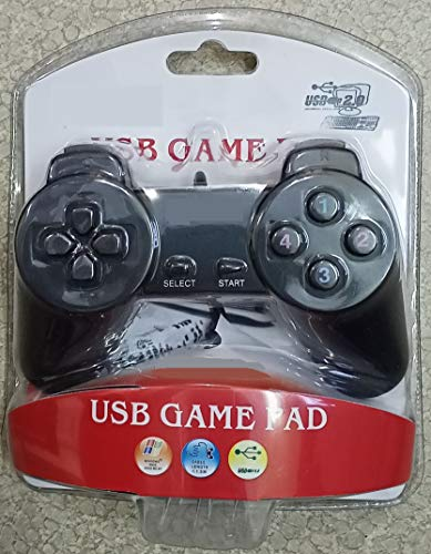 USB Game Pad – Game Controller – Game Remote for Computer (Plug & Play) Without Vibration.