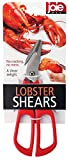 Joie Lobster Crab Seafood Shears, Stainless Steel Blades, 7.5-Inches x 2.75-Inches