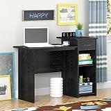 Mainstays Student Desk, Black Ebony Ash (Ebony Ash)