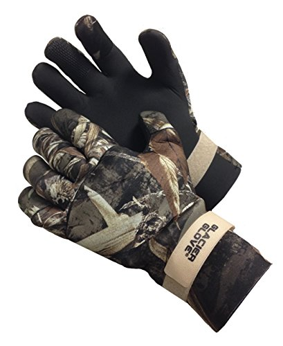 Glacier Glove Pro Waterfowler Waterproof Neoprene Gloves, Max 5, Medium
