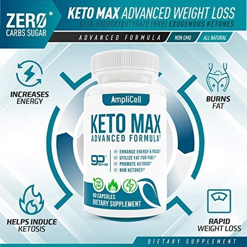Keto Diet Pills - Utilize Fat for Energy with Ketosis - Boost Energy & Focus, Support Metabolism, Manage Cravings - Keto MAX Supplement for Women and Men - 30 Day Supply… 7