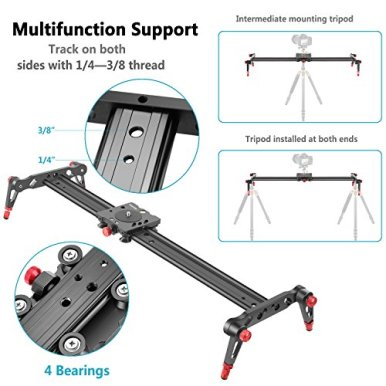 Neewer-Aluminum-Alloy-Camera-Track-Slider-Video-Stabilizer-Rail-with-4-Bearings-for-DSLR-Camera-DV-Video-Camcorder-Film-Photography-Loads-up-to-175-pounds8-kilograms-80cm