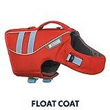 RUFFWEAR - Float Coat Dog Life Jacket for Swimming, Adjustable and Reflective, Sockeye Red, Medium