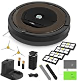 iRobot Roomba 890 Robotic Vacuum Cleaner with Wi-Fi Connectivity + Manufacturer's Warranty + Extra Sidebrush and Extra Filter Bundle