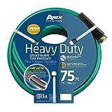 Apex, 8509-75, Heavy Duty Ultra Flexible Garden Hose,  5/8-Inch x 75-Feet
