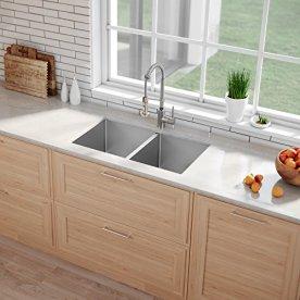 Kraus-Standart-PRO-33-inch-16-Gauge-Undermount-5050-Double-Bowl-Stainless-Steel-Kitchen-Sink-KHU102-33