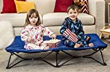 Regalo My Cot Portable Toddler Bed, Includes Fitted Sheet, Royal Blue