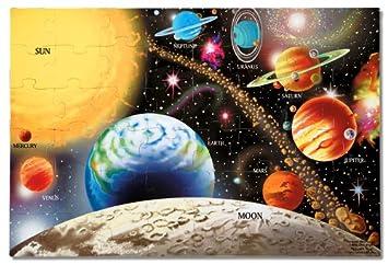 Melissa & Doug Solar System Floor Puzzle (48 pcs, 2