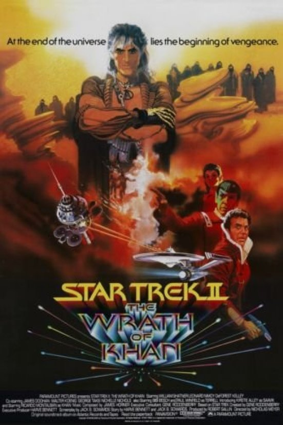 Image result for wrath khan poster