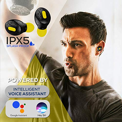 51wY8AVe8LL WeCool Moonwalk Mini Earbuds with Magnetic Charging Case IPX5 Wi-fi Earphones with Digital Battery Indicator for Crisp Sound Bluetooth Earphones for Safe Sports activities Match