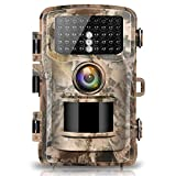 Campark Trail Camera 14MP 1080P 2.4' LCD Game & Hunting Camera with 42pcs IR LEDs Infrared Night Vision up to 75ft/23m IP56 Waterproof for Wildlife Animal Scouting Digital Surveillance