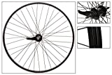 WheelMaster Rear 26 x 1.75/2.125, WEI-AS7X, Black, 36H, 14g Blk Spokes