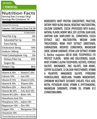 Nutrisystem® Turbo Shake Chocolate Fudge Probiotic, 20 ct 8