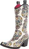 Blazin Roxx Women's Sugar Skull Cowgirl Rain Boot Snip Toe Multi 8 US