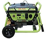 Green-Power America GPG4000W 4000W Pro Series Recoil Start Generator