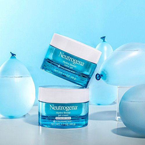 77f7a8d1b84 Neutrogena Hydro Boost Hyaluronic Acid Hydrating Face Moisturizer Gel-Cream  to Hydrate and Smooth Extra-Dry Skin, 1.7 oz