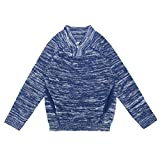 Product review for DOYOMODA Little Boys Shawl Collar Button Pullover Sweater