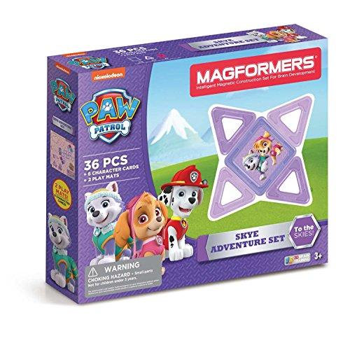 Magformers Building Kit, Paw Patrol Colors – LOW PRICE