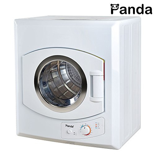 Panda 2.65 cu.ft Compact Laundry Dryer, White