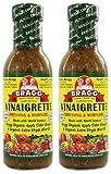 Bragg Dressing & Marinade Vinaigrette Organic 12 oz (Pack of 2)
