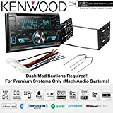 Kenwood Excelon DPX593BT CD Receiver + kit 2001-2004 Escape, Excursion, 99-04 F-150, 01-03 Mustang and Sots Lanyard Bundle