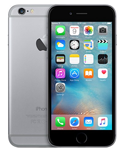 Apple iPhone 6 Plus Space Gray 64GB Unlocked Smartphone (Certified Refurbished)