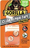 "Gorilla 6015002 Crystal Duct Tape, 1.5"" x 5 yd, ((Pack of 1), Clear"