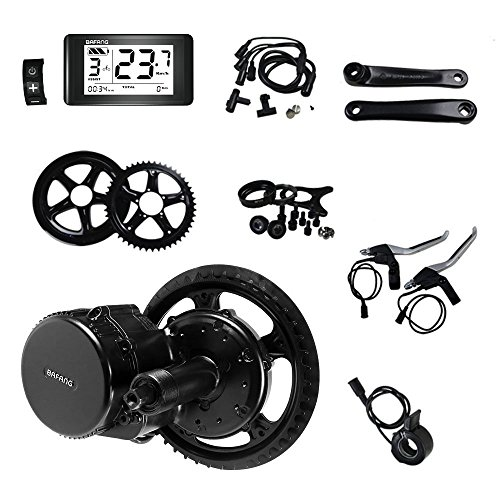 Bafang Electric Bike Motor Kit Mid Drive 500W 48V Bicycle Conversion Kit Ebike Components Kit Electric Bicycle Motor BBS02B