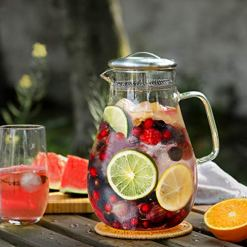 Hiware Glass Pitcher Water Carafe