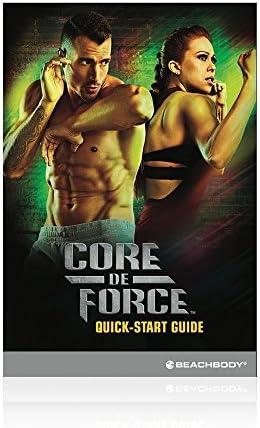 Beachbody CORE DE FORCE Base Kit DVD workout program - MMA inspired - created by 4
