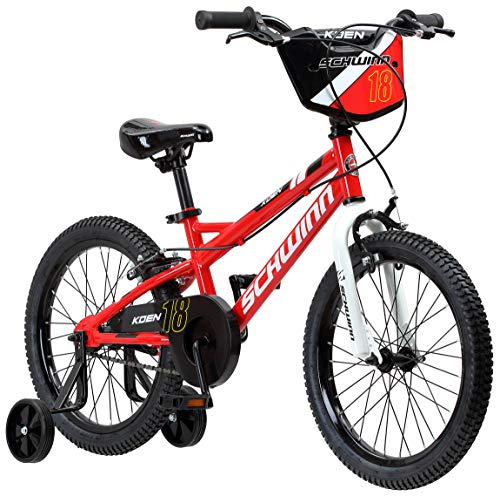 Schwinn Koen Boy's Bike with SmartStart, 18' Wheels, Red