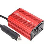 200W Car Power Inverter, IABOLT DC 12V to AC 110V Converter for Car with USB Ports Car Charger Adapter, AC Outlets