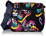 Vera Bradley Iconic Stay Cooler, Signature Cotton, Butterfly Flutter