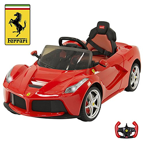 BIG TOYS DIRECT Kid's 82700 Rastar LA Ferrari Electric Ride on Car