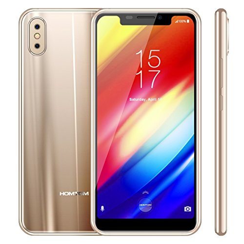 HOMTOM H10 4GB+64GB 5.85 inch Android 8.1 MTK6750T Octa Core up to 1.5GHz GSM & WCDMA & FDD-LTE (Gold)