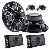 Orion XTR52 5.25' Inch 2-Way Speaker Component System Set 100 Watt Max Car Audio