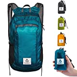 4monster Durable Packable Backpack by Ultra Lightweight Water Resistant Travel Hiking Foldable Outdoor Daypack, 16L