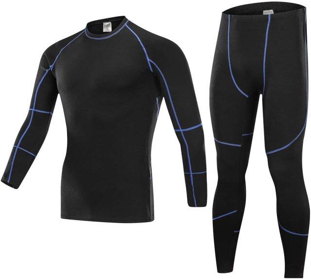 SKYSPER Maglia Termica + Pantaloni Termici Image