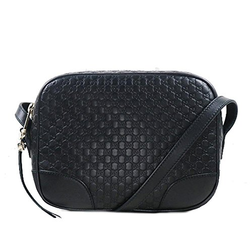"""GG Supreme Bree Crossbody Black Made in Italy. Brand new, in original packaging with tags, controllo card and all. Inner lining made of beige cotton linen One main compartment Two slots 8 card slots Logoplate in leather Color: black Material: leather, metal, textile Dimensions: 22 x 17 x 7 cm 8.67"""" x 6.7"""" x 2.8"""" Founded in Florence in 1921, Gucci is one of the world's leading luxury fashion brands, with a renowned reputation for creativity, innovation and Italian craftsmanship. Gucci is part of the Kering Group, a world leader in apparel and accessories that owns a portfolio of powerful luxury and sport and lifestyle brands."""