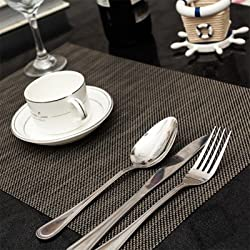 4PCS/set PVC Placemat Meal Cup Pad Table decoration accessories Kitchen Dining bar Place mat Pad Tableware