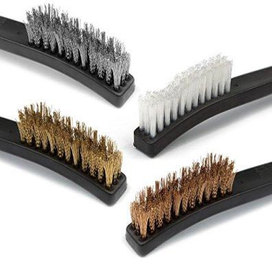 Braudel-Gun-Cleaning-Brush-Pick-Kit-Double-Ended-Brass-Copper-Nylon-Steel-Brush-Ploymer-Metal-Picks-Set9pcs