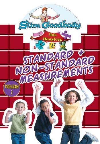 Slim Goodbody Math Monsters: Standard and Non-Standard Measurements