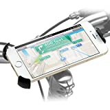 iKross Clip On Bike Mount Holder For Samsung Galaxy S7, S7 Edge, S6, S6 Edge/iPhone 5SE, 6 4.7