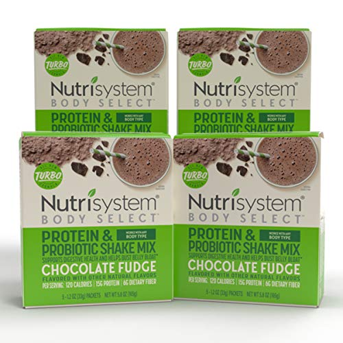 Nutrisystem® Body Select™ Chocolate Fudge Protein & Probiotic Shakes, 20ct, Delicious Shakes that Bust Belly Bloat* and Support Digestion 3