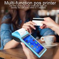 Ciglow-Android-POS-Terminal-Receipt-Printer-58mm-Handheld-Barcode-Scanner-Printer-with-55in-IPS-Display-Support-8GB-WiFi-BT3040-Blue-110-240vUS